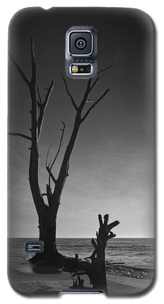 Deserted Beach Sunset Galaxy S5 Case