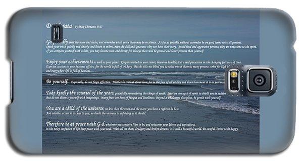 Desiderata  Galaxy S5 Case