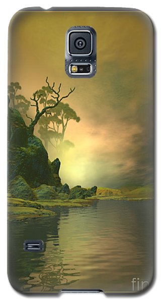 Galaxy S5 Case featuring the digital art Desiderium Epicuri by Sipo Liimatainen