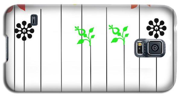 Galaxy S5 Case featuring the digital art Design by Sladjana Lazarevic