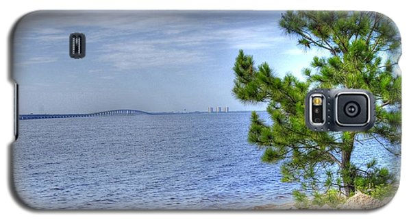 Galaxy S5 Case featuring the photograph Destin Midbay Bridge by Donald Williams
