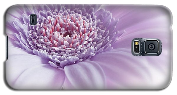 Galaxy S5 Case featuring the photograph Close Up White Pink Flowers Macro Photography Art by Artecco Fine Art Photography