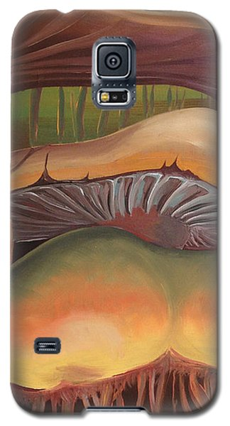Detail Champignons Galaxy S5 Case by Art Ina Pavelescu
