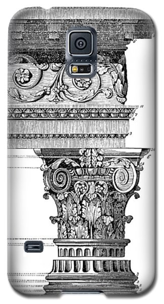 Detail Of A Corinthian Column And Frieze I Galaxy S5 Case