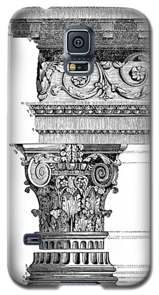 Detail Of A Corinthian Column And Frieze II Galaxy S5 Case by Suzanne Powers