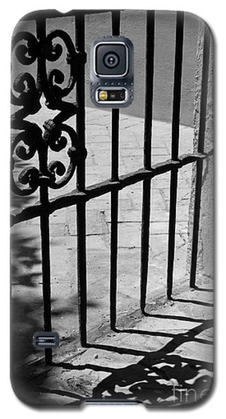 Galaxy S5 Case featuring the photograph Detail Of Gate In Seville by Cendrine Marrouat