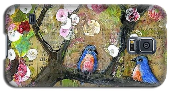 Animals Galaxy S5 Case - Detail Of Painting From The Lexicon by Blenda Studio