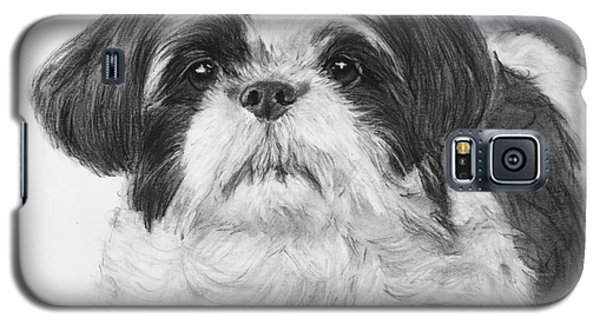 Detailed Shih Tzu Portrait Galaxy S5 Case
