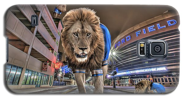 Detroit Lions At Ford Field Galaxy S5 Case