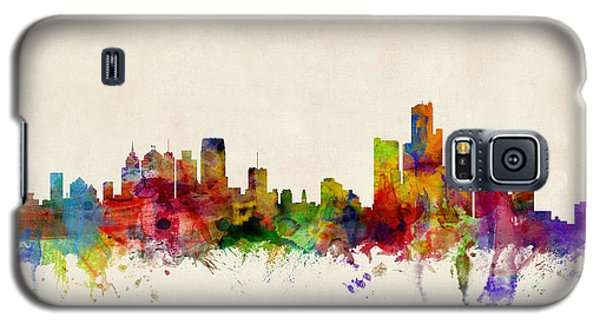 Detroit Michigan Skyline Galaxy S5 Case
