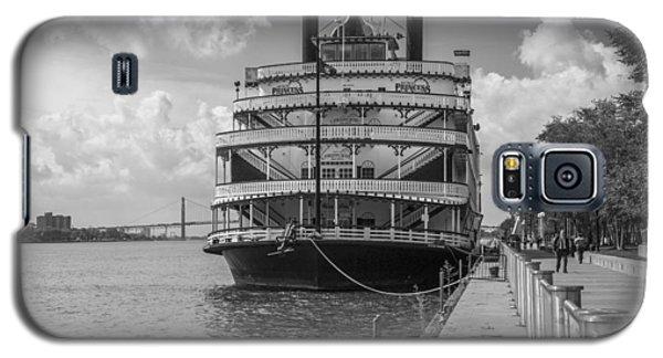 Detroit River Princess Black And White  Galaxy S5 Case