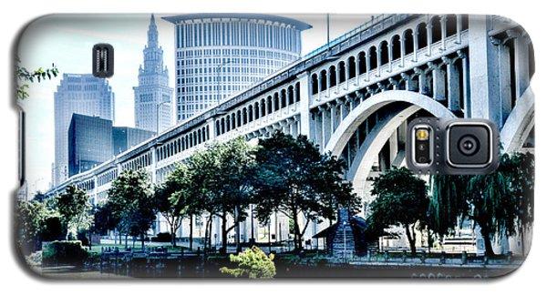 Detroit-superior Bridge - Cleveland Ohio - 1 Galaxy S5 Case