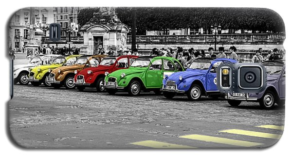Deux Chevaux In Color Galaxy S5 Case by Ross Henton