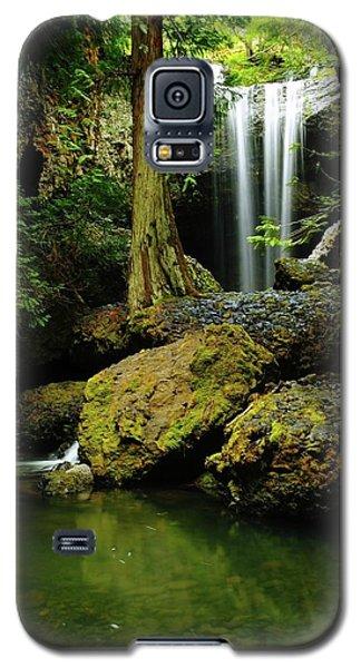 Devil Creek Falls  Galaxy S5 Case by Jeff Swan