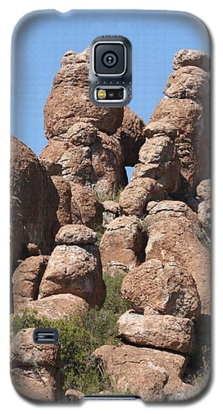 Galaxy S5 Case featuring the photograph Devils Canyon Wall by Tom Janca
