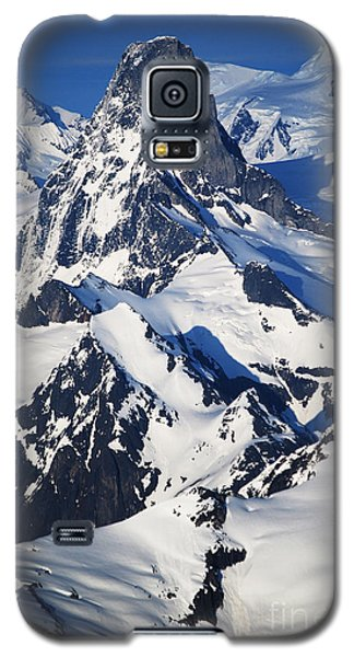 Galaxy S5 Case featuring the photograph Devil's Thumb From The Air by Cynthia Lagoudakis