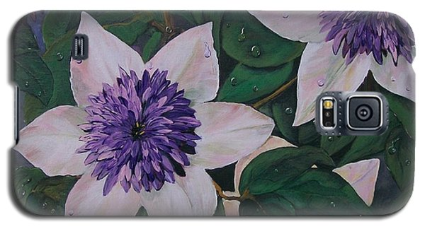 Clematis After The Rain Galaxy S5 Case