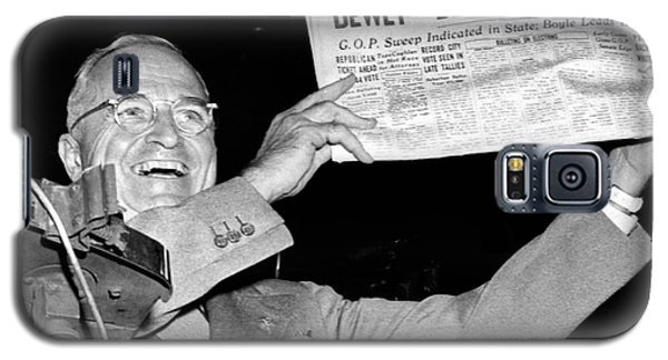 Dewey Defeats Truman Newspaper Galaxy S5 Case