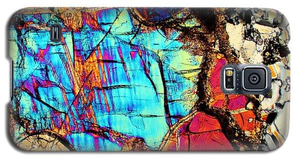 A Splash Of Blue Galaxy S5 Case