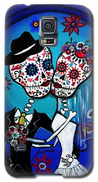 Dia De Los Muertos Kiss The Bride Galaxy S5 Case