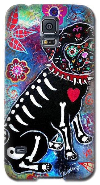 Dia De Los Muertos Pug Galaxy S5 Case
