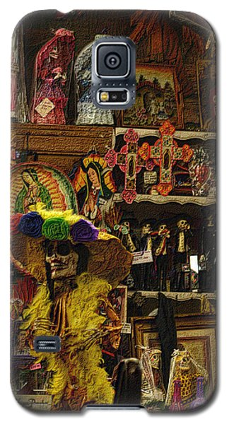 Dia De Muertos Shop Galaxy S5 Case