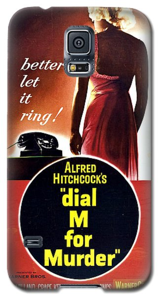Dial M For Murder - 1954 Galaxy S5 Case by Georgia Fowler