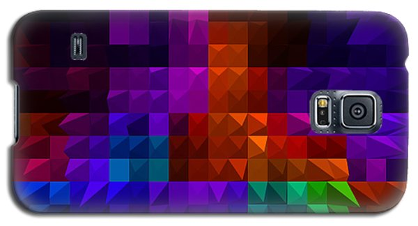 Galaxy S5 Case featuring the digital art Diamond Cut by Gayle Price Thomas