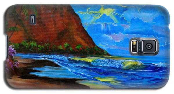 Diamond Head Blue Galaxy S5 Case