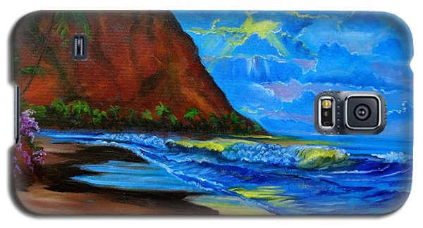 Diamond Head Blue Galaxy S5 Case by Jenny Lee