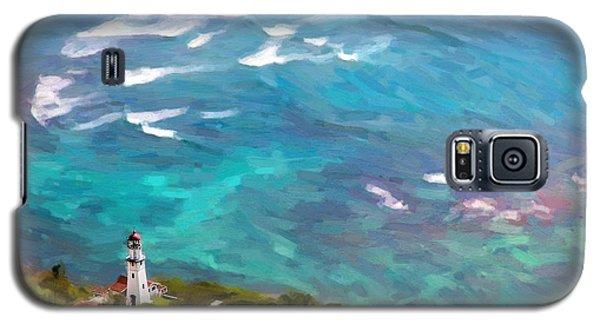 Diamond Head Lighthouse View Galaxy S5 Case