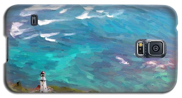 Diamond Head Lighthouse View Galaxy S5 Case