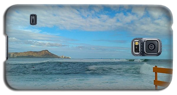 Diamondhead And A Yellow Fence Galaxy S5 Case