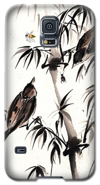 Galaxy S5 Case featuring the painting Dibs by Bill Searle