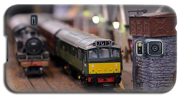 Diesel Electric Model Train Railway Engine Galaxy S5 Case