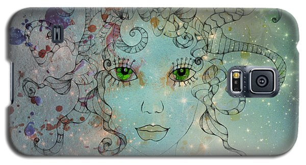 Galaxy S5 Case featuring the digital art Different Being by Barbara Orenya
