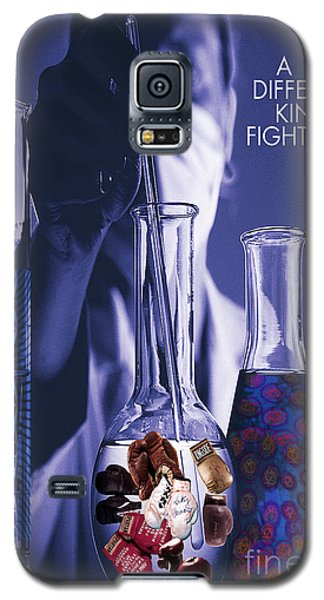 Galaxy S5 Case featuring the digital art Different Kind Of Fight No2 by Megan Dirsa-DuBois