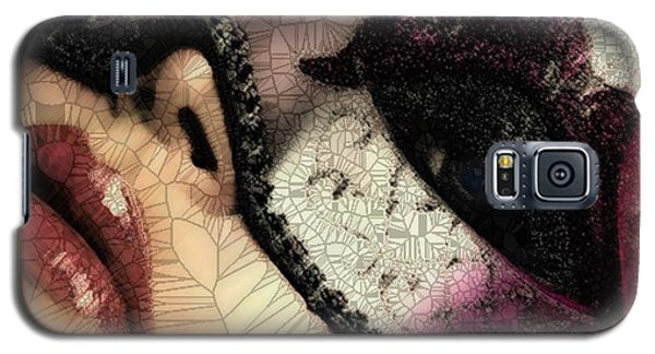 Galaxy S5 Case featuring the digital art Digital by Catherine Lott