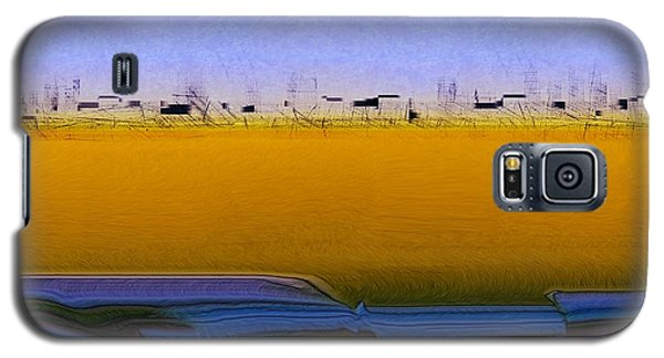 Digital City Landscape - 2 Galaxy S5 Case