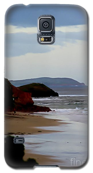 Digital Painting Of Smiths Beach Galaxy S5 Case by Blair Stuart