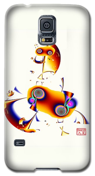 Digital Picasso - Hobby Horse Galaxy S5 Case by David Jenkins