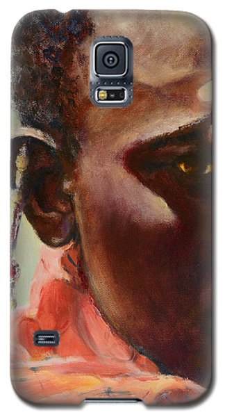 Galaxy S5 Case featuring the painting Dignity by Sher Nasser