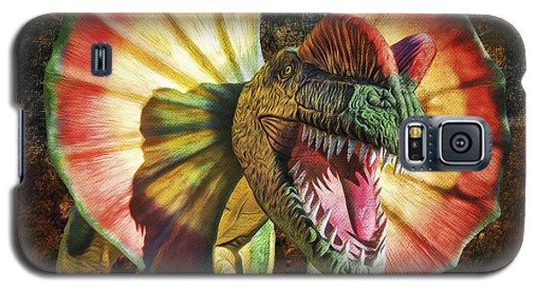 Dilophosaurus Spitting Dinosaur Galaxy S5 Case