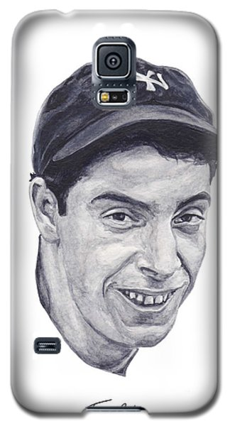 Galaxy S5 Case featuring the painting Dimaggio by Tamir Barkan