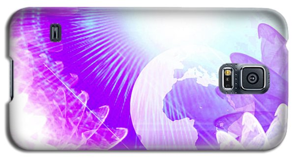 Galaxy S5 Case featuring the digital art Dimensional Shift by Ute Posegga-Rudel
