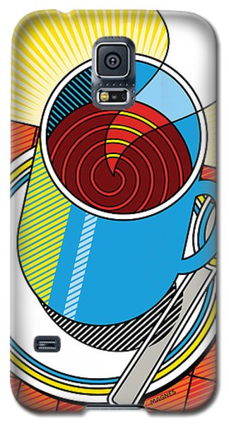 Diner Coffee Galaxy S5 Case