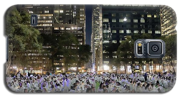 Diner En Blanc New York 2013 Galaxy S5 Case