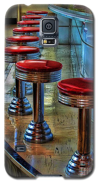 Diner Stools Galaxy S5 Case by Clare VanderVeen