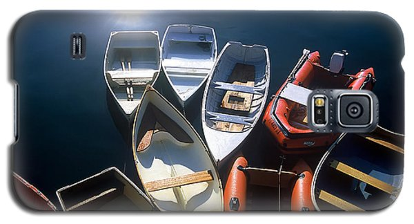 Dinghies And Rowboats - Maine Galaxy S5 Case by David Perry Lawrence