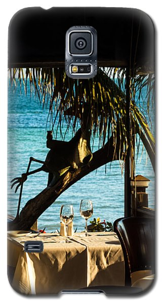 Dining For Two At Louie's Backyard Galaxy S5 Case